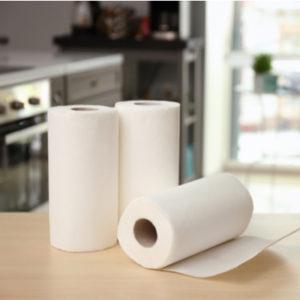rolls of paper towel